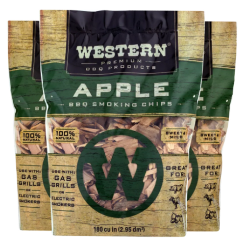 Western Apple BBQ Smoking Wood Chips