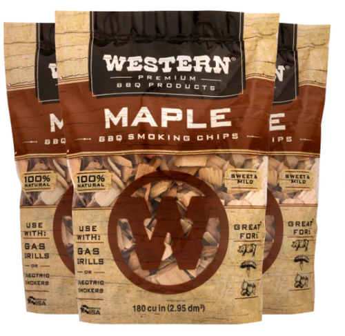 Western Maple BBQ Smoking Wood Chips