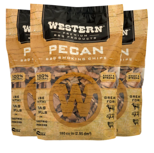 Western Pecan BBQ Smoking Wood Chips