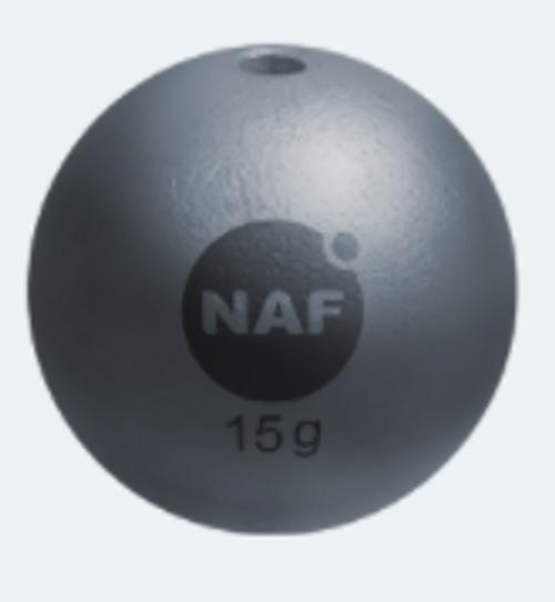 NAF Lead Free Ball T-Series Gray Sinker