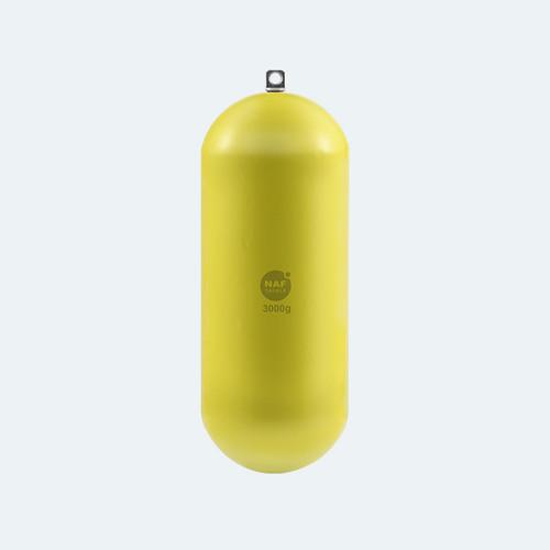 NAF Lead Free Bomb D-Series Yellow Sinker