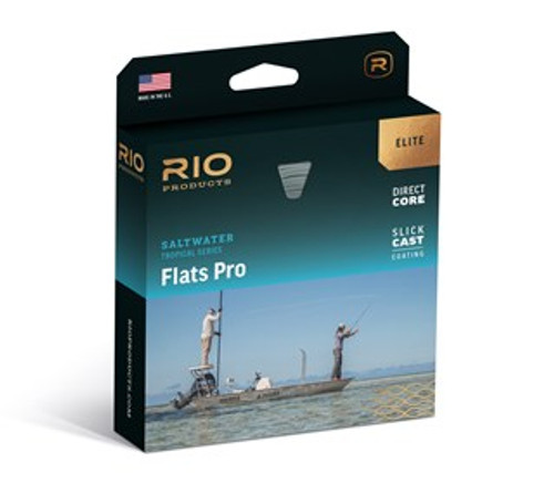 Rio Saltwater Elite Flats Pro Floating/Intermediate 15ft Clear Tip Tropical Fly Line
