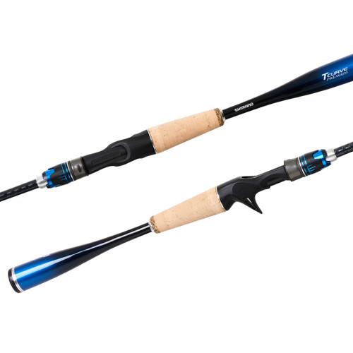 Shimano TCurve Premium Baitcast Rod