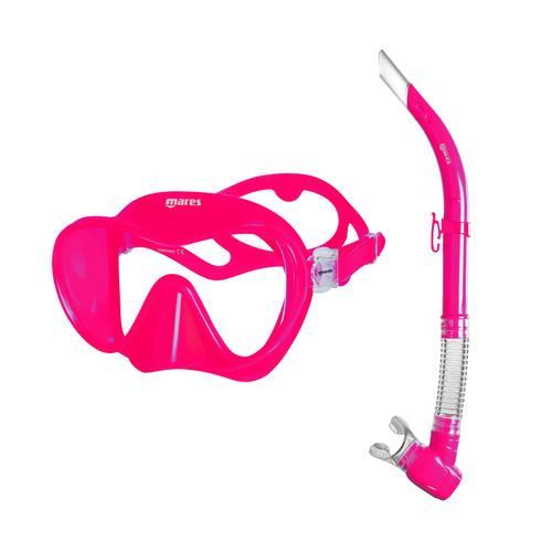 Mares Tropical Mask & Snorkel Set Pink