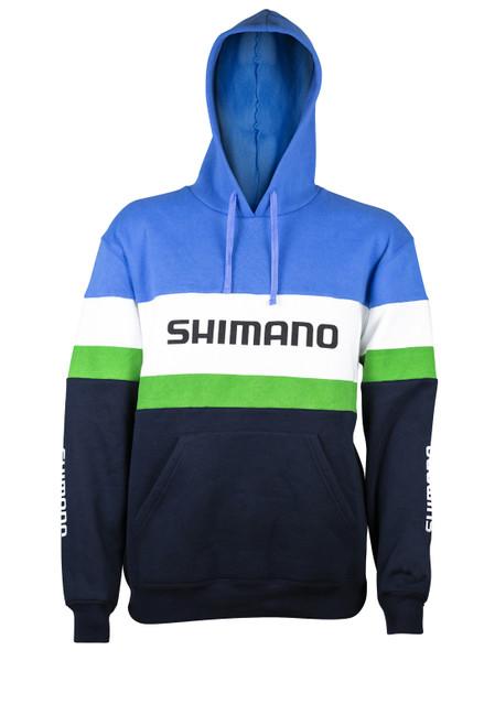 Shimano Mens Fleece Hoodie Retro Chinook