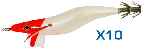 Yo-Zuri Redhead Squid Jig 3.0 Bulk 10 Pack