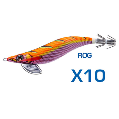 Yo-Zuri Pata Pata EGI-Q Squid Jig 3.0 ROG Bulk 10 Pack