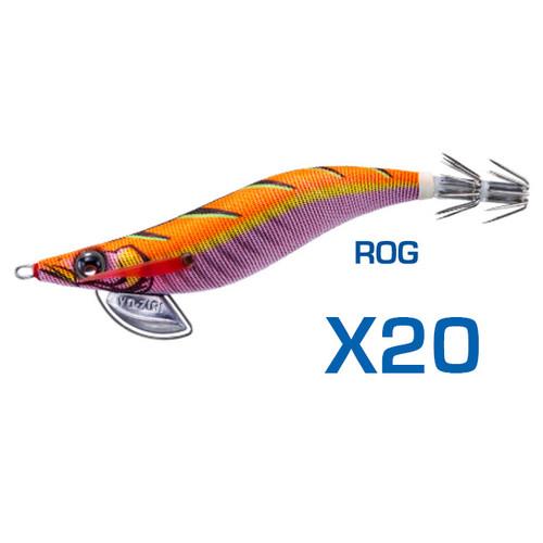 Yo-Zuri Pata Pata EGI-Q Squid Jig 3.0 ROG Bulk 20 Pack