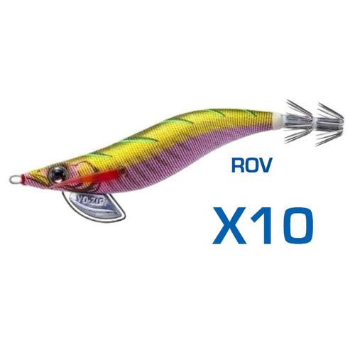 Yo-Zuri Pata Pata EGI-Q Squid Jig 3.0 ROV Bulk 10 Pack