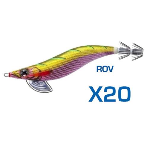 Yo-Zuri Pata Pata EGI-Q Squid Jig 3.0 ROV Bulk 20 Pack