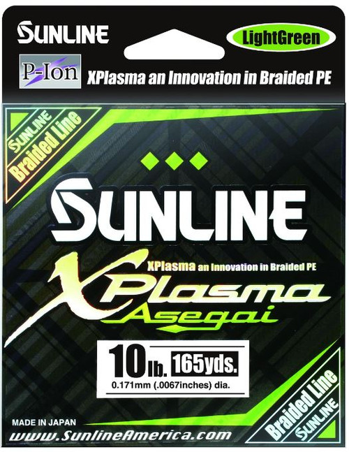 Sunline X Plasma Asegai PE X8 Light Green 300m
