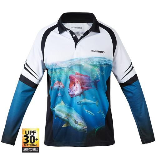 Shimano Coltsniper Bottom Basher Sublimated Shirt