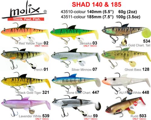 Molix Shad 140mm
