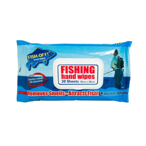 Fish Off Hand Wipes - 30 Pack