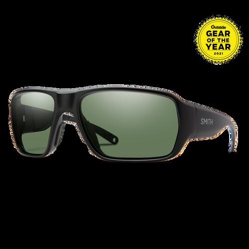 Smith Optics Castaway Matte Black/Gray Green Polarised Sunglasses