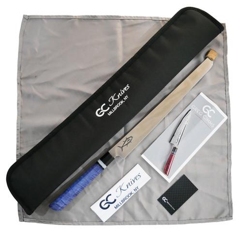 """GC Knives Custom Tuna Sword 14"""" S35vn - Handle Colour 3"""