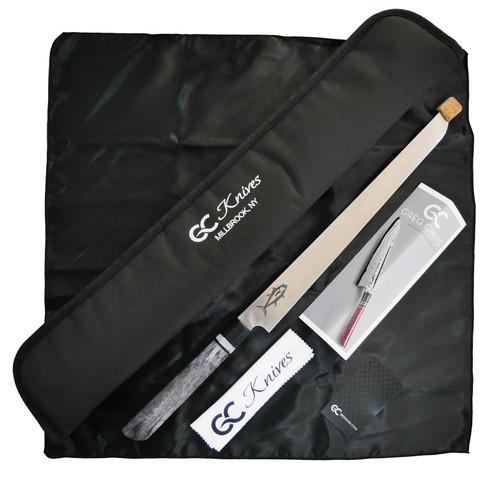 """GC Knives Custom Tuna Sword 14"""" S35vn - Handle Colour 4"""