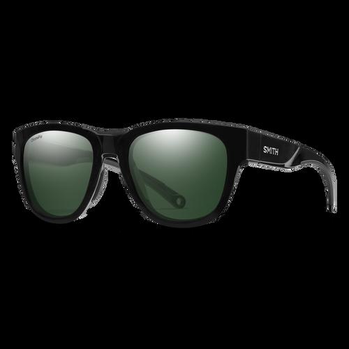Smith Optics Rockaway Black Frame / Gray Green Lens Polarised Sunglasses