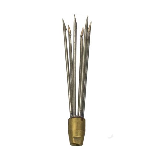 Cressi 6 Barb Cluster 5/16th 6 Inch Spear Head