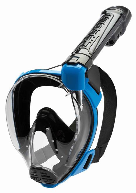 Cressi Baron Full Face Mask Black/Blue