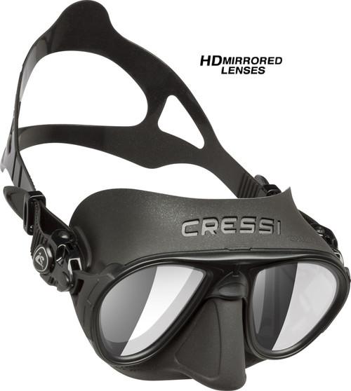 Cressi Calibro Mask HD Mirror Lense Black