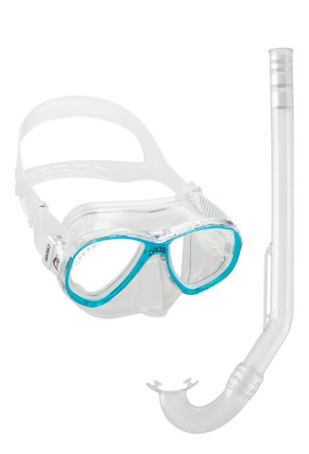 Cressi Perla Mare Jr Minigringo Mask Snorkel Set