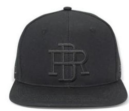 Reel Brand Premium Flat Peak Cap - Black