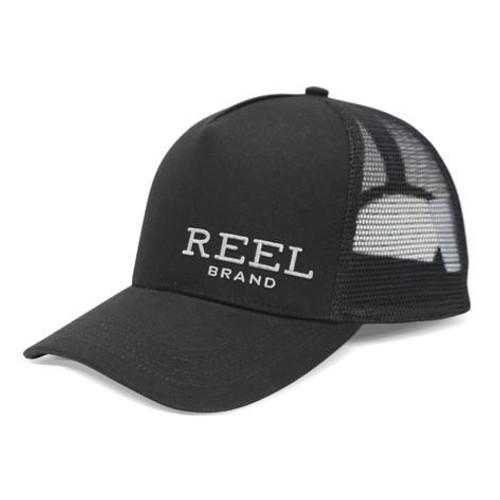 Reel Brand Trucker Cap - Black