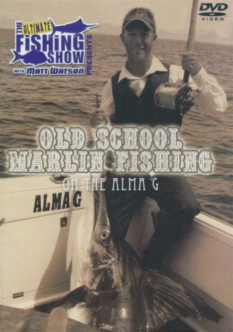 Old School Marlin Fishing on the Alma G **CLEARANCE**