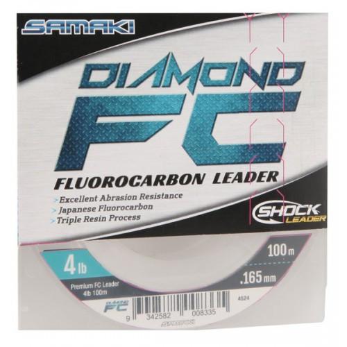 Samaki Diamond FC Fluorocarbon Leader