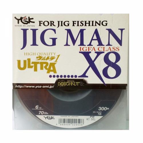 YGK Galis Jig Man X8 PE 300m