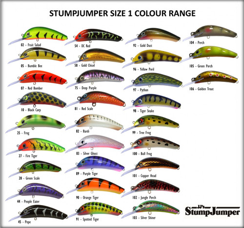 JJ's StumpJumper Dual Depth Size 1