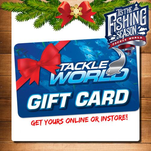 Tackle World Gift Voucher