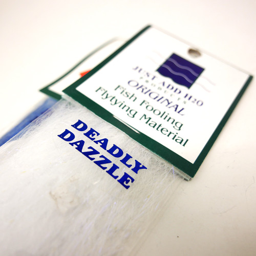 Just Add H20 Deadly Dazzle Fly Tying Material
