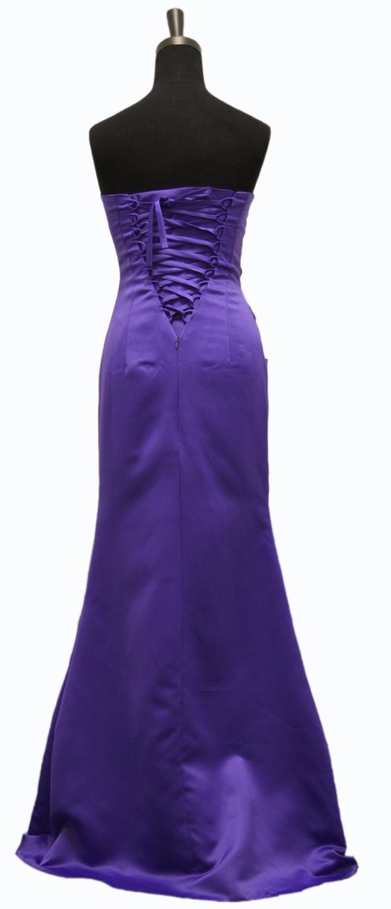 Cadbury purple Evening Wedding Party Dress size