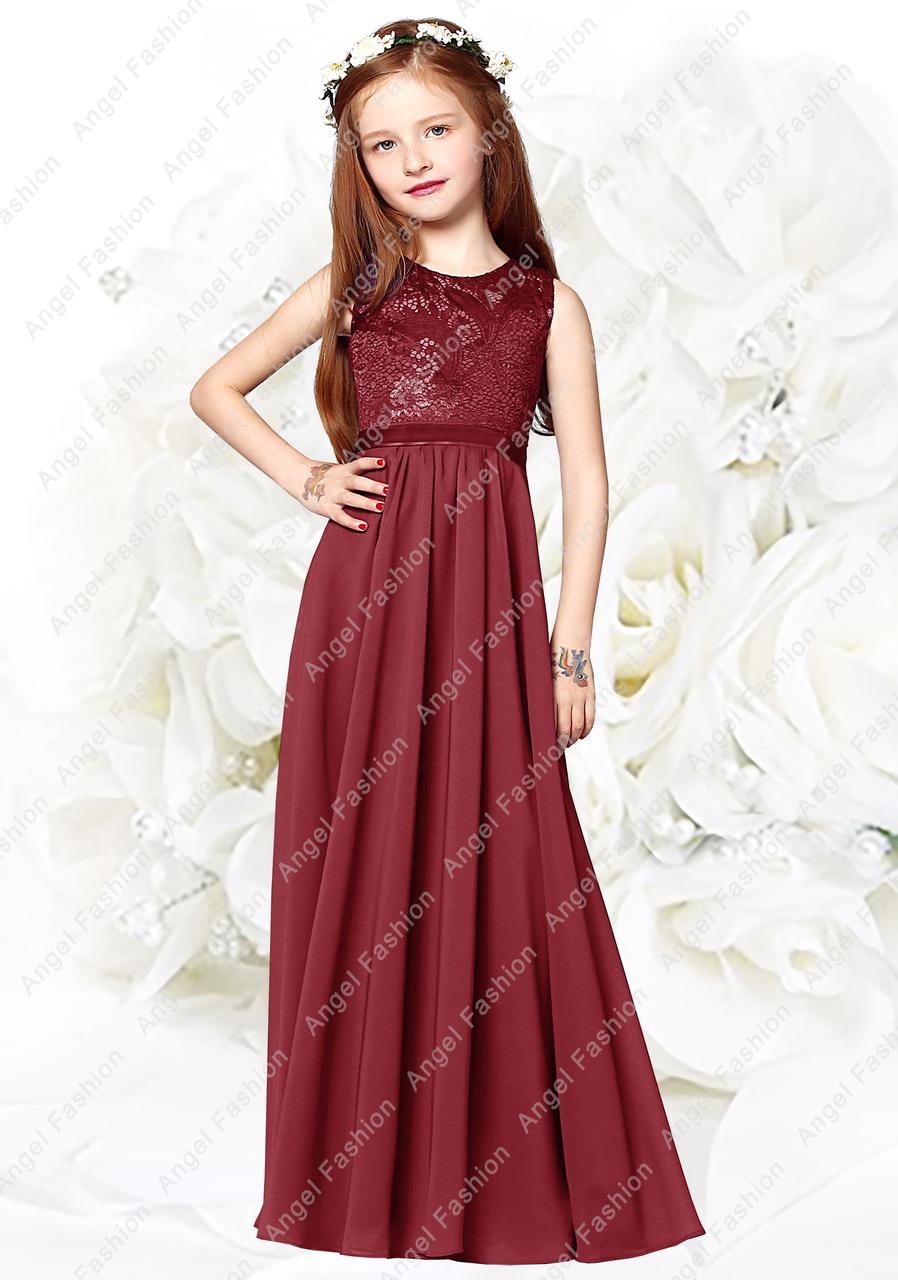 Angel Wedding Dress Red
