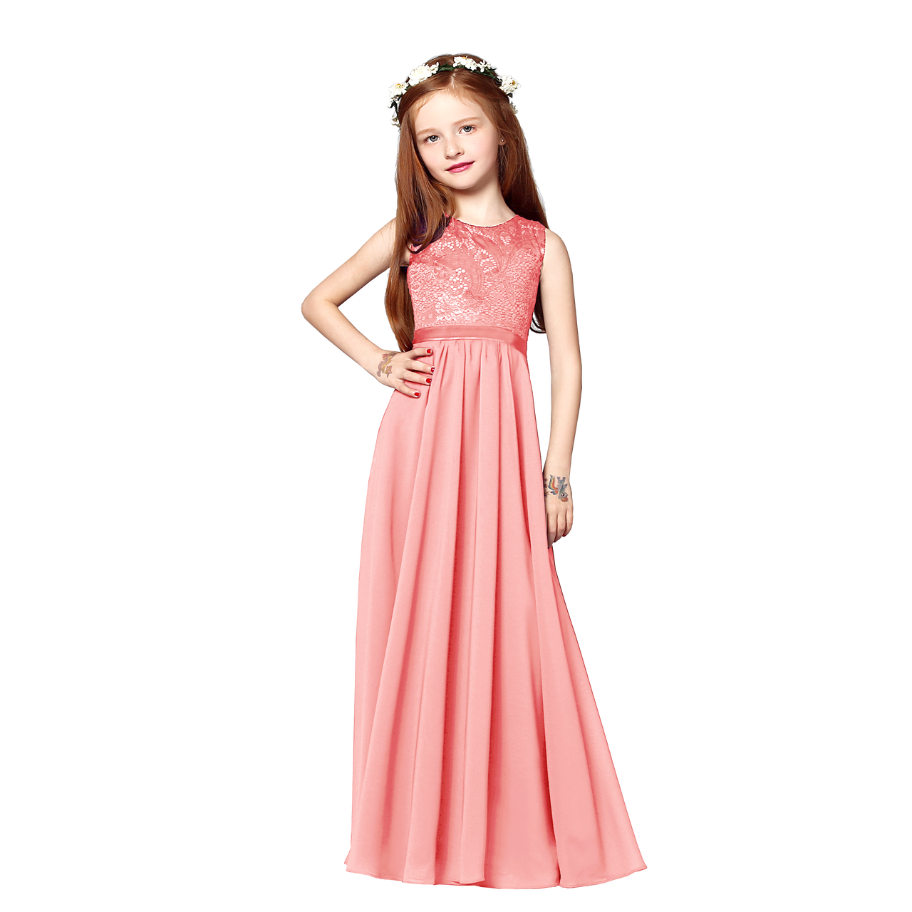 f8ca631e5f2 Peach Jr Bridesmaid Dresses