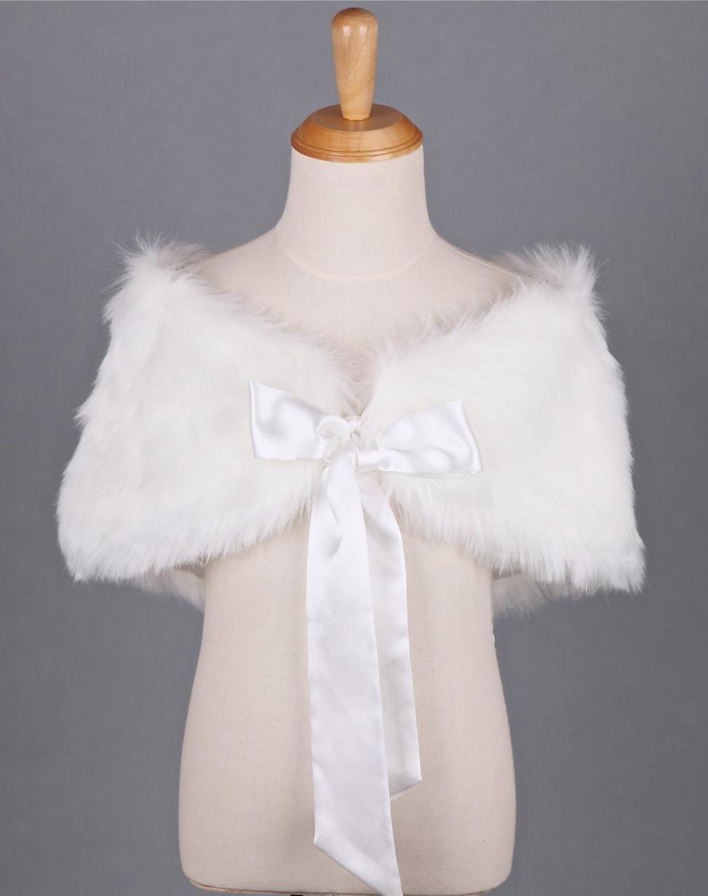 beea4d725a1 Faux Fur Wrap Bridal Bridesmaids Wedding - Angel Fashion ltd