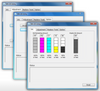 Included software which controls basic machine functions, status and calibrations.