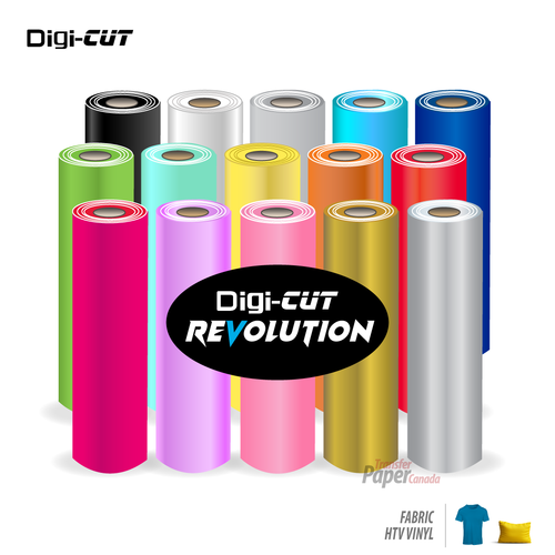 Digi-Cut Revolution - Heat Transfer Vinyl