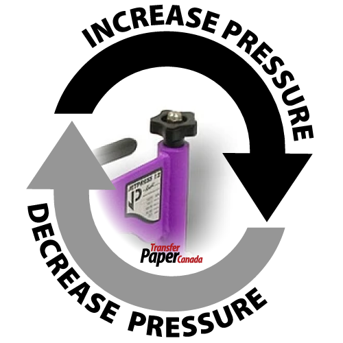 Heat Press Best Practices - Pressure