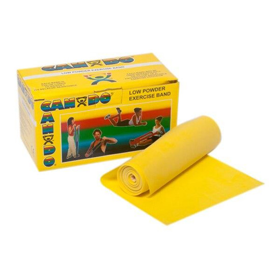 Cando CanDo Low Powder Exercise Band 25 Yard Roll