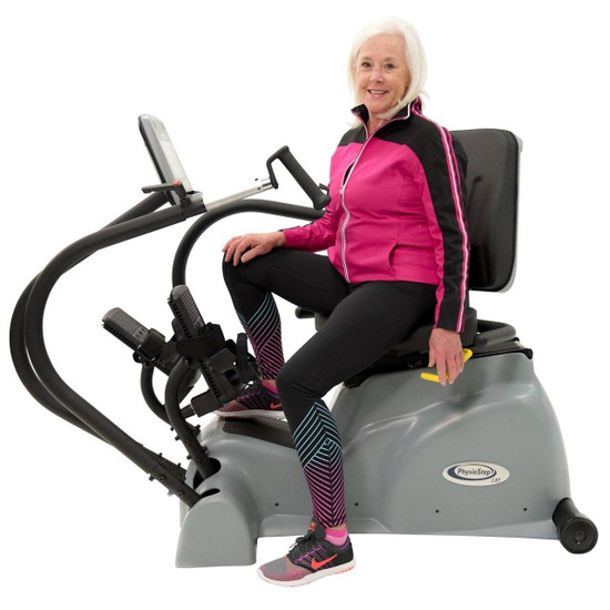 HCI Fitness PhysioStep LXT Recumbent Linear Step Cross Trainer
