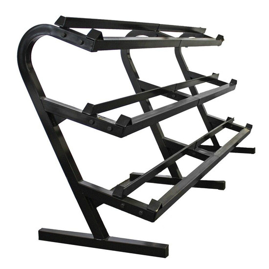 Troy Barbell Troy Barbell 3 Tier Weight Rack