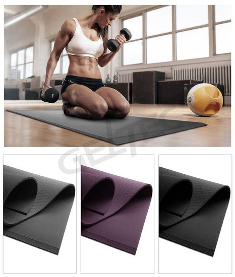 Pro-Mat Pro Mat for Fitness, Yoga, Pilates, Stretching and Floor Exercises