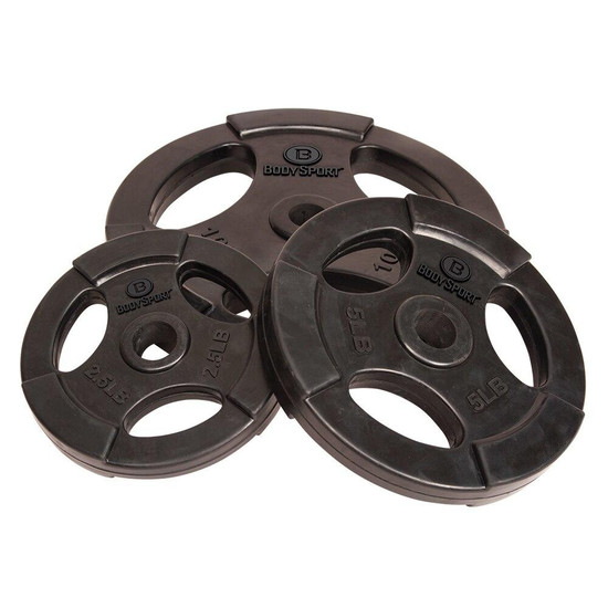 Body Sport Standard Weight Plates 1in Pair