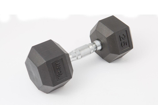 York York Rubber Hex Dumbbell