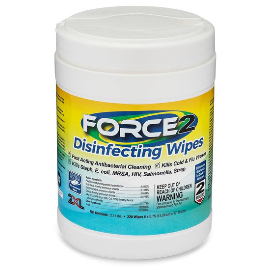 Force2 Force2 Disinfectant Wipes