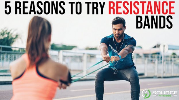 5 Reasons to Try Resistance Bands | Sourcefitness.net