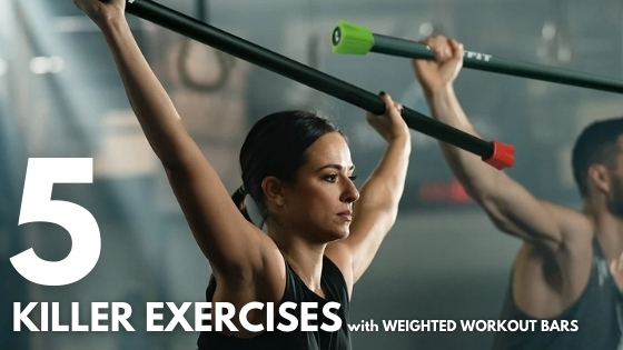 How to Use a Weighted Workout Bar: 5 Killer Exercises